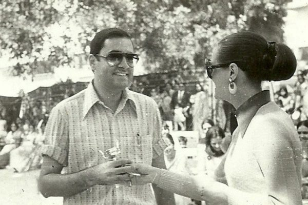 Mr. Rajiv Gandhi and Mrs. Sonia Gandhi at The Study Sports Day