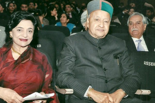 Mr. Virbhadra Singh at The Study Annual Day
