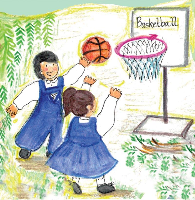 Basket ball Signage