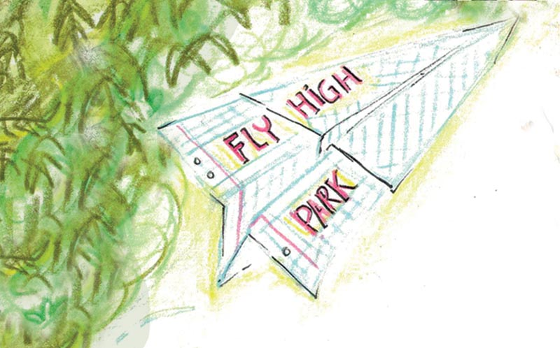 Fly High Park Signage